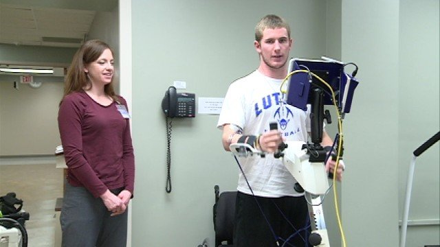 As a freshman at Luther College, Chris Norton suffered an accident on the football field that left him paralyzed from the neck down.