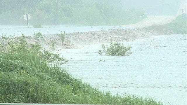 Officials in New Hartford are suggesting that residents evacuate as Beaver Creek continues to rise, while a shelter for those choosing to evacuate the town has opened.