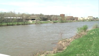 The Army Corps of Engineers is now predicting the Coralville Reservoir will crest at 709 feet Thursday, 3 feet below the emergency spillway.