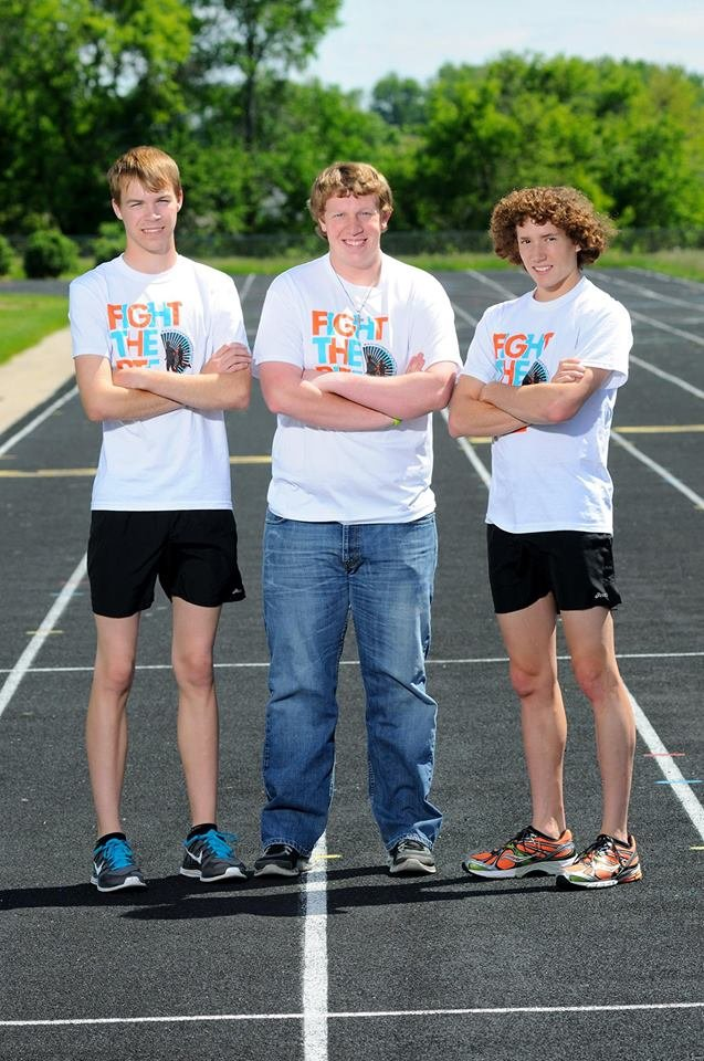More than $4,600 was raised during a kick-off event in Waverly Tuesday night for three teenagers who plan to run across the state and raise awareness about malaria.