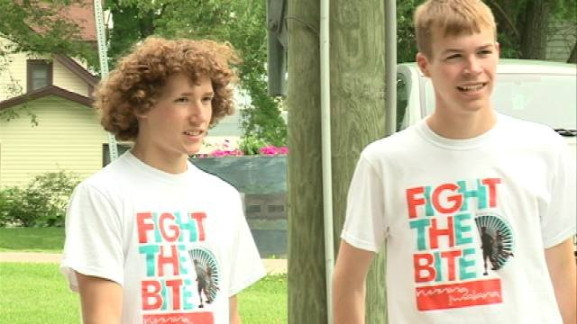 Wise and his friend Brad Wylam are running across the state to raise awareness about malaria. Their trek begins on Tuesday in Hall. They'll end up in Dubuque on July 2.