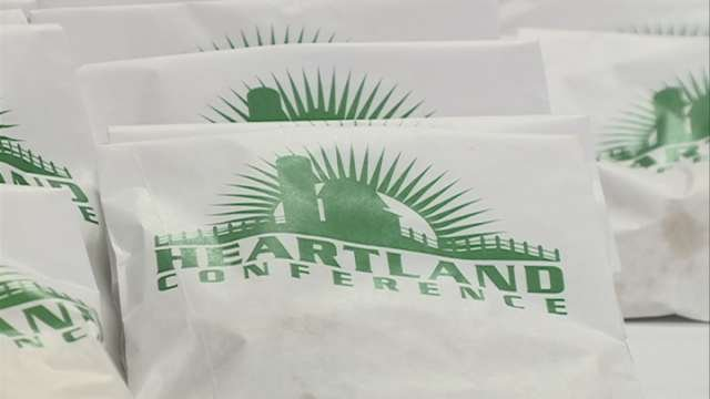 The VGM Heartland Conference kicked off Monday, bringing people from all over the country to Waterloo.