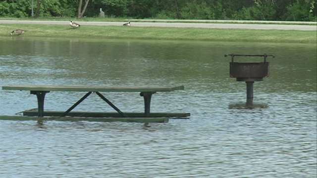 Flooding from the Cedar River will close portions of George Wyth State Park starting Friday.
