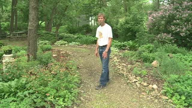 About 13 years ago, the Monona Butterfly Garden was overrun with weeds and an eye sore in the community. The garden visitors see today is the vision of Jim Langhus.