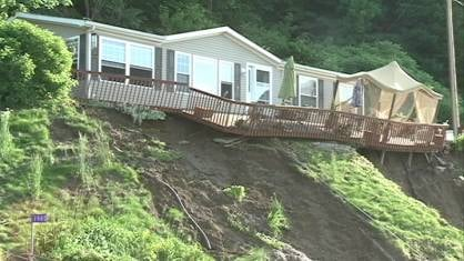 A state of emergency has been declared in four counties due to heavy rains causing flash flooding, river flooding and even mudslides this weekend.