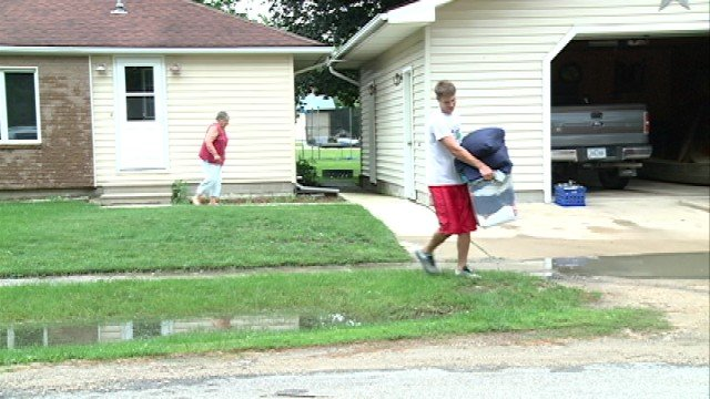 A mandatory evacuation has been ordered for residents of New Hartford Tuesday morning.