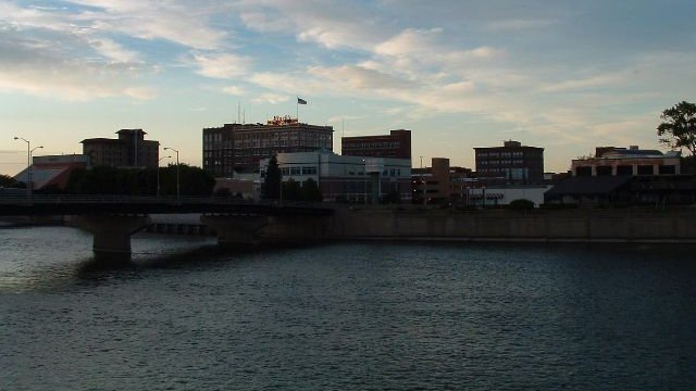 A child was rescued from the Cedar River Thursday after falling in near the downtown Waterloo splash pad.