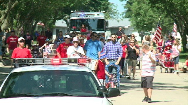 While it's been a tradition for some eastern Iowa towns to hold a parade on the 4th of July, the City of Cedar Falls didn't always have one.