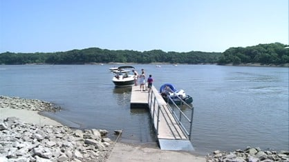 It's been a slow start to summer for the Coralville Lake Marina -- and everyone else. But things are finally looking up.