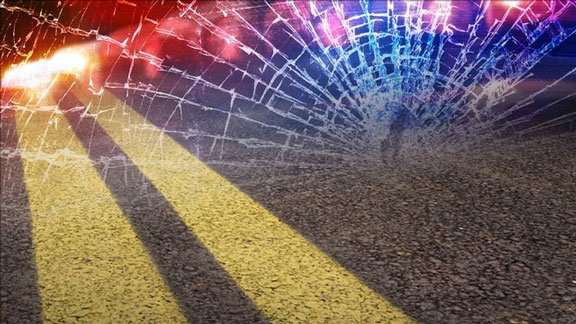 Officials are searching for anyone with information about a vehicle they say caused a deputy's patrol vehicle to end up in a roadside ditch.