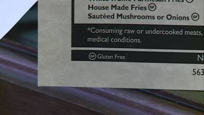 The Copper Kettle in Dubuque offers a variety of gluten-free dishes