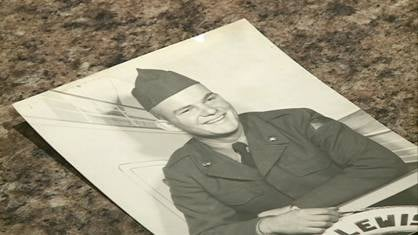 Korean War veteran Paul Staner, pictured here as a 19-year-old, will board Tuesday's Honor Flight of Greater Dubuque