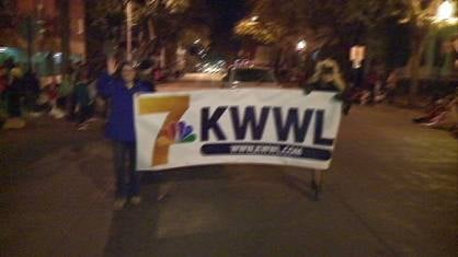 KWWL appeared in the Dubuque Community YMCA/YWCA Halloween Parade