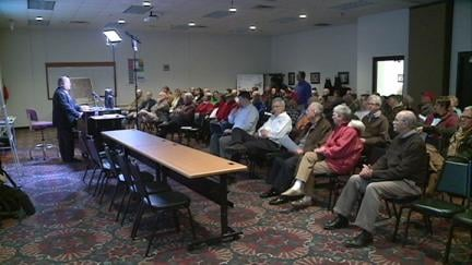 More than 70 people attended a Southwest Arterial public information meeting Wednesday