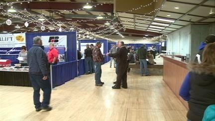 Hundreds of farmers gathered at the Dubuque County Fairgrounds Saturday for the Farm and Ag Show