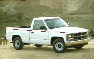 Investigators believe a vehicle similar to this one was used in a robbery in Baldwin on January 31, 2014