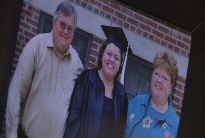 Nikki Chapman (middle) was killed by a drunk driver in 2004, two weeks after her college graduation