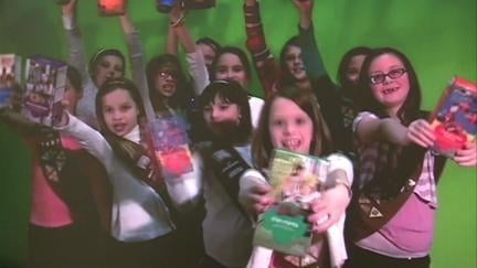 Girl Scouts Brownie Troop 7697 created a promotional cookie sales video they hope goes viral