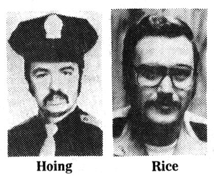 Officers Hoing and Rice