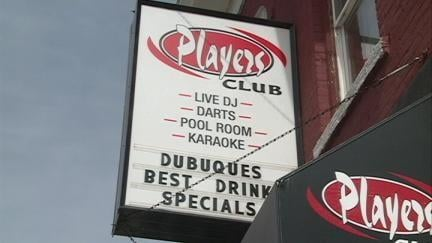 Players Club is in the 1900 block of Central Avenue in Dubuque