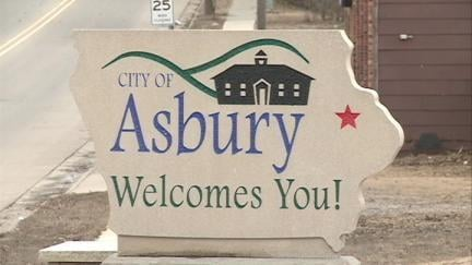 The city of Asbury's population has grown more than 80 percent since the 2000 Census