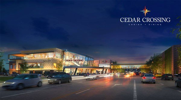 The proposed Cedar Crossing Casino