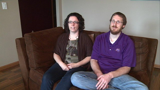 Andrea and Brad Dellit are raising awareness about infertility