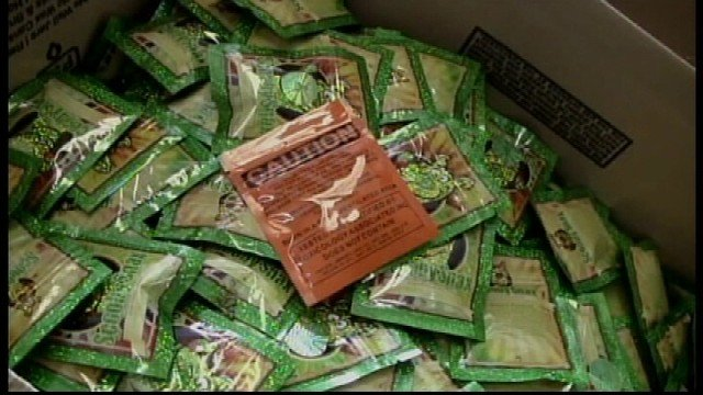 The Drug Enforcement Administration and local police executed nearly 375 search warrants in 35 states and five countries Wednesday in the search for synthetic drugs -- including Waterloo, Cedar Rapids and Iowa City.