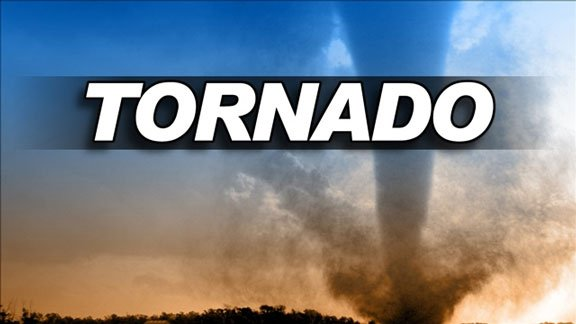 A Tornado Watch is in effect until 9 p.m. for some counties.