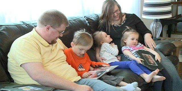 The Peat family of Dubuque worries about whether they can bring their adopted children home from the DRC.