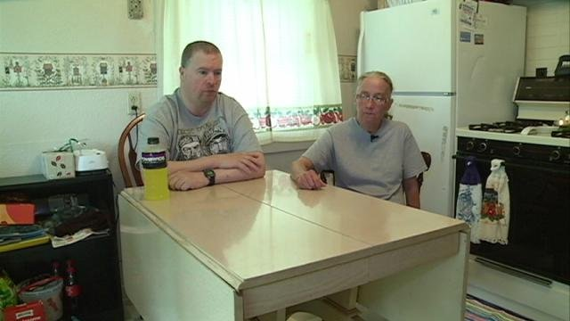 Displaced by their neighbor's alleged meth-related fire, Rick Schultes and Karen Friend speak out