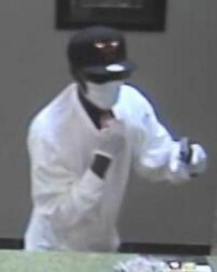 Another surveillance photo of the Guaranty Bank robbery Thursday, May 29.