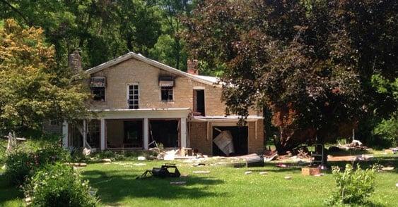 Guttenberg house fire