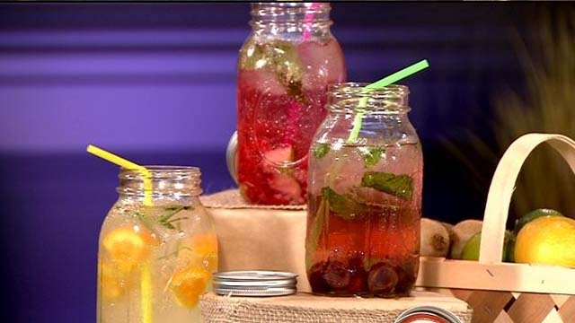 Infusion water ideas from Hy-Vee