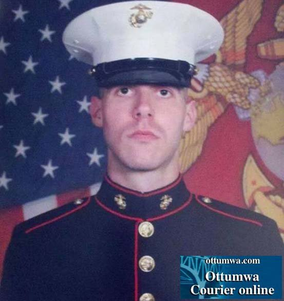 Lance Cpl. Adam Wolff, 25, of Cedar Rapids. (Courtesy Ottumwa Courier)