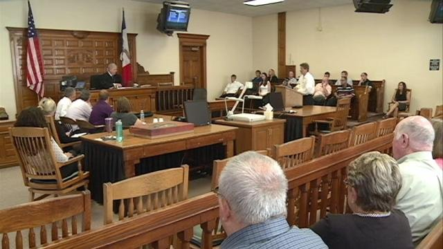 The Dubuque-Delaware Counties Drug Court met Thursday