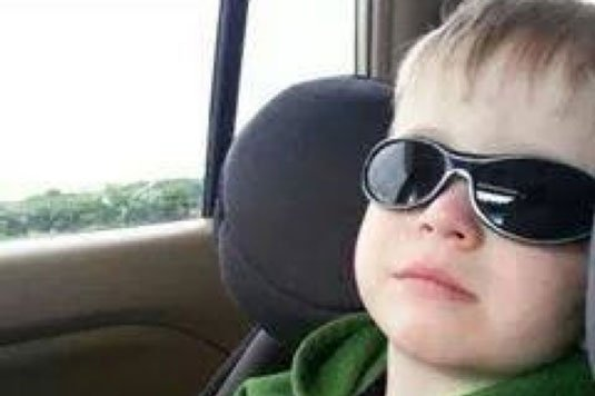 Carter McOmber, 3, of Cedar Falls, in this undated photo (Courtesy of Carter's Go Fund Me page)