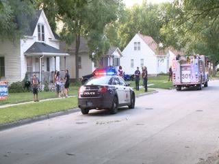 Police say a 5 year-old boy was riding his bike when a car hit him along Columbia Street on Monday night.