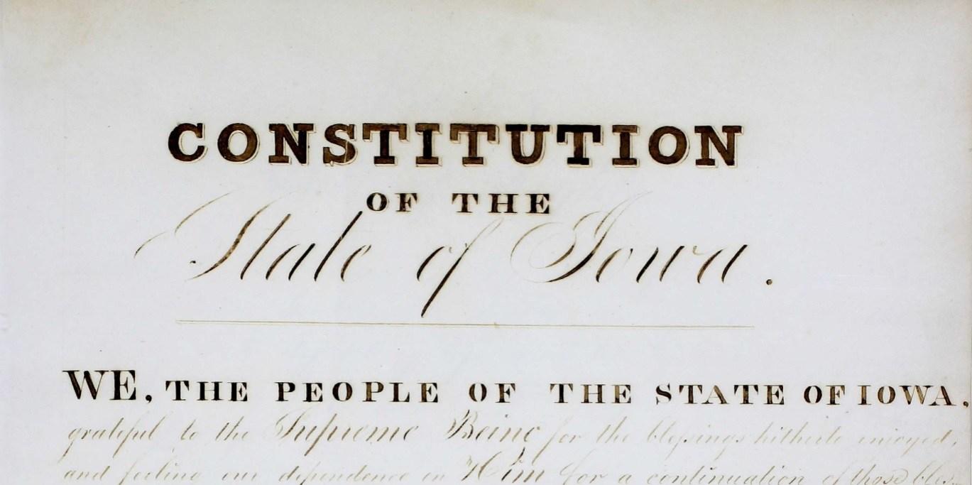 Iowa Constitution
