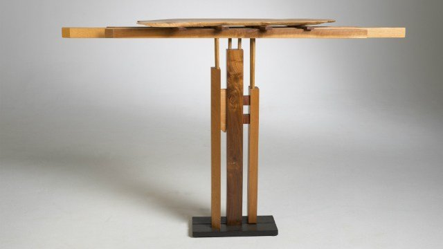 Samurai Table by John Schwartzkopf