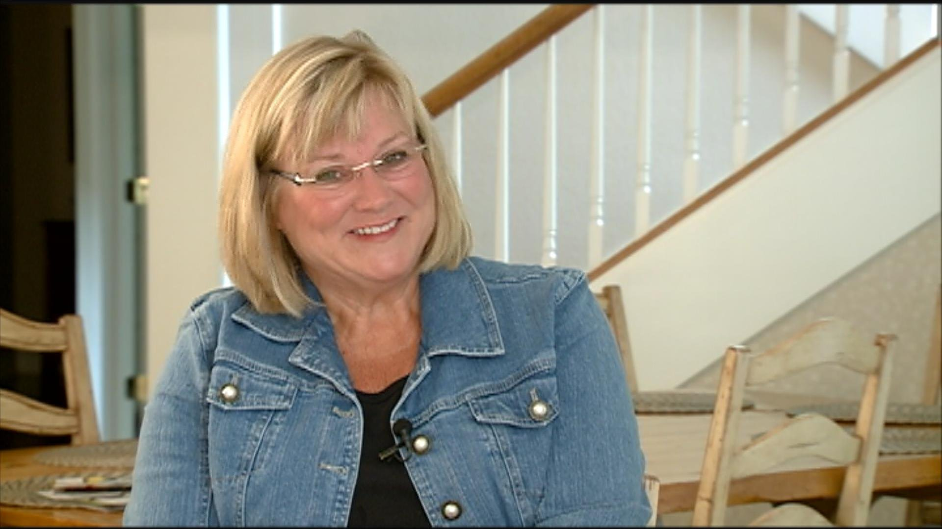 Mary Ferentz, in her interview with KWWL's Teal Jennings
