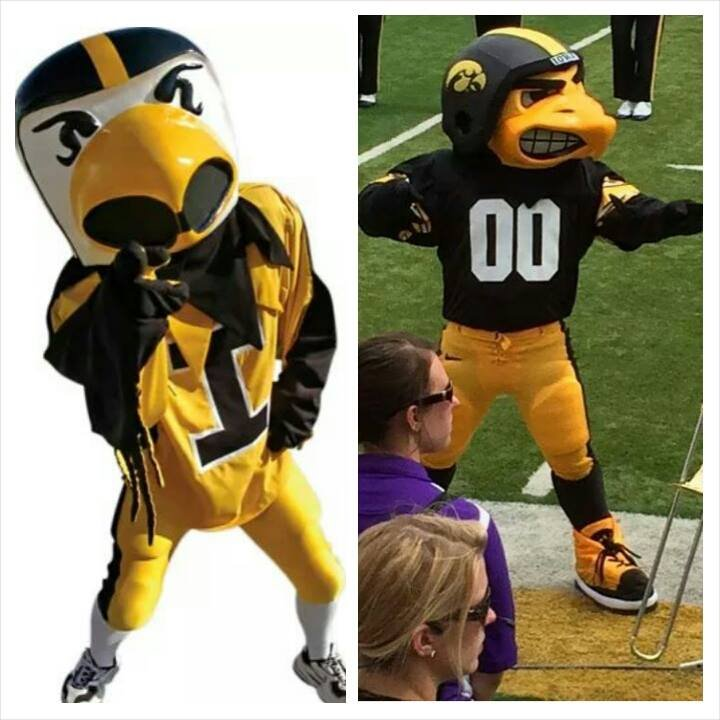 Picture posted on Facebook compares the old and new mascots