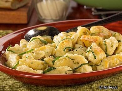 Italian Cheese Dumplings (Courtesy Mr. Food)