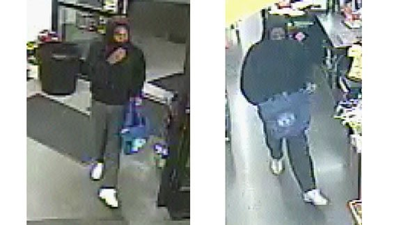 Cedar Falls Police have released these photos of a suspect they say robbed a Cedar Falls Dollar General on Nov. 4, 2014.