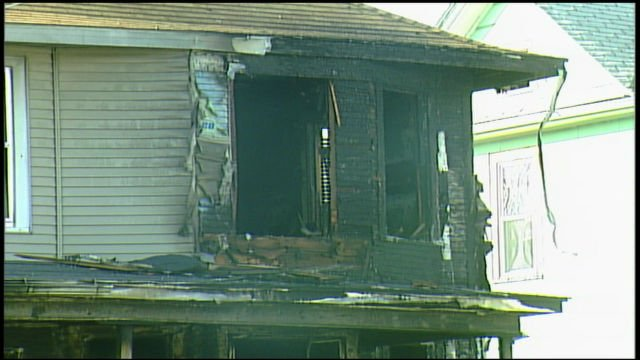 Sgt. Carter went into a burning home in 2007 to save people inside
