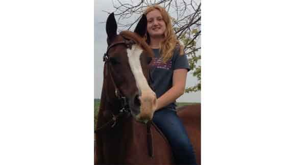 Liesel Casto, 12, of Traer (Courtesy Iowa Funeral Planning)