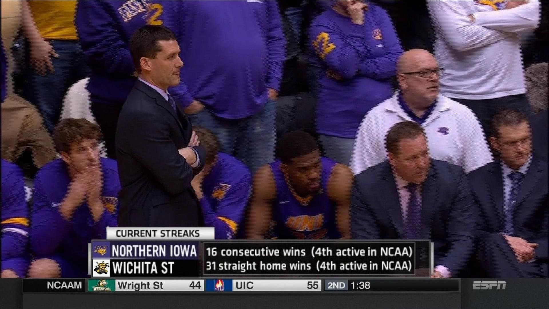 UNI dropped to No. 11 in the latest AP Top 25.