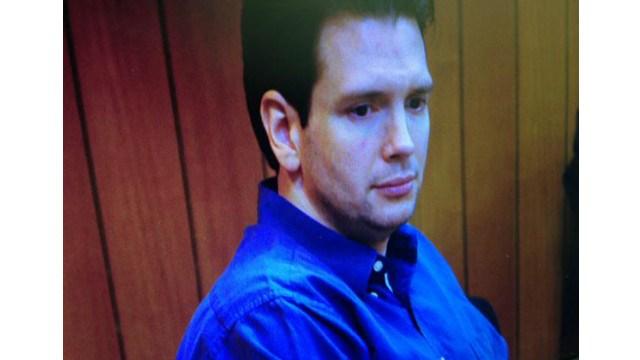 Casey Frederiksen in court, March 3, 2015