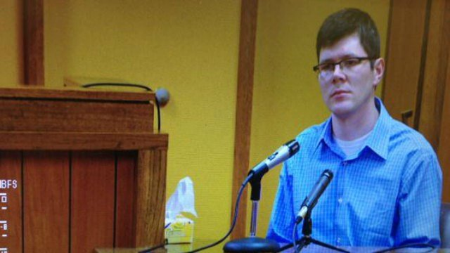 Evelyn Miller's father, Andy Christie, testifies in court