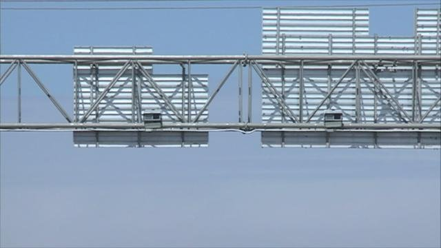 Speed cameras along I-380 in Cedar Rapids
